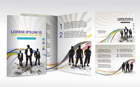 mag: brochure design for Business artworks.