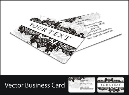 visitenkarte: Business-Karten-set