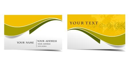 Set de cartes de visite, pour plus de carte de visite de ce type s'il vous plaît visitez ma galerie