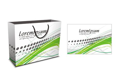 shopping bag isolated on white background, vector illustration. Stock Vector - 7327266