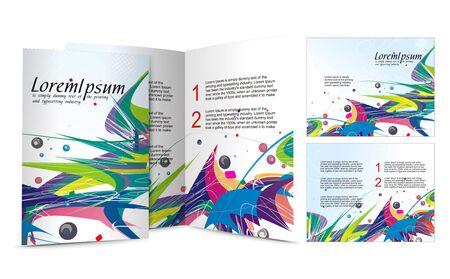 brochure design for night club,  illustartion. Stock Vector - 7390700