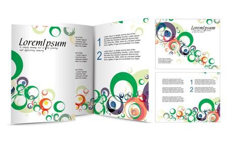 illustartion: brochure design for night club, illustartion.
