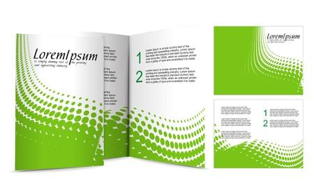 mag: brochure design for night club,  illustartion.