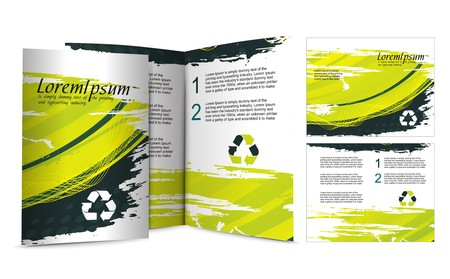 brochure design for night club, illustartion.
