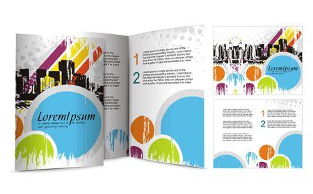 mag: conception de la brochure pour le club de nuit, illustartion.