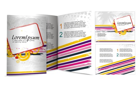 mag: conception de la brochure pour night club, illustartion.  Illustration
