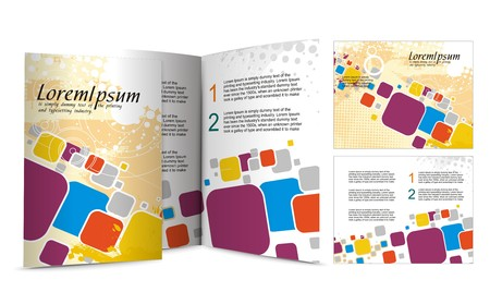 brochure design for night club, illustartion. Stock Vector - 7391579