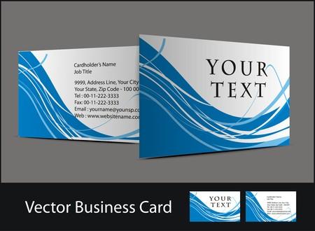 vector business card set, vector design. Stock Vector - 7993522