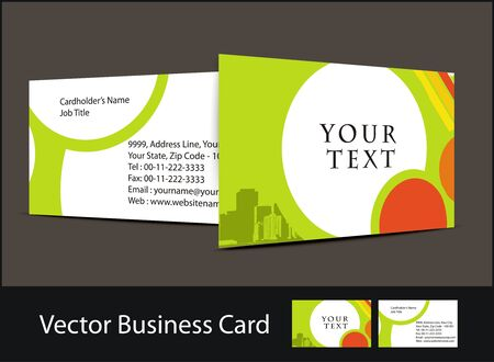 business card set , elements for design. Stock Vector - 7639434