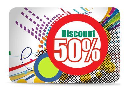 prepaid card: Discount card templates