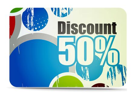 discount card: Discount card templates
