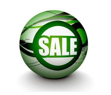 3d sphere sale design, design. Stock Vector - 8055049