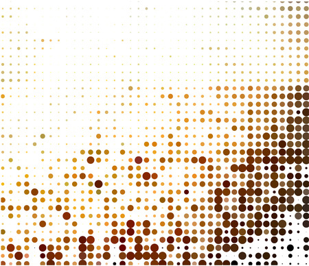 doted: abstract halftone doted background  Illustration