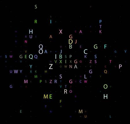 source code: Digital program code,  illustration.