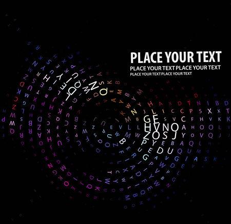 Digital program code,  illustration. Stock Vector - 8113562