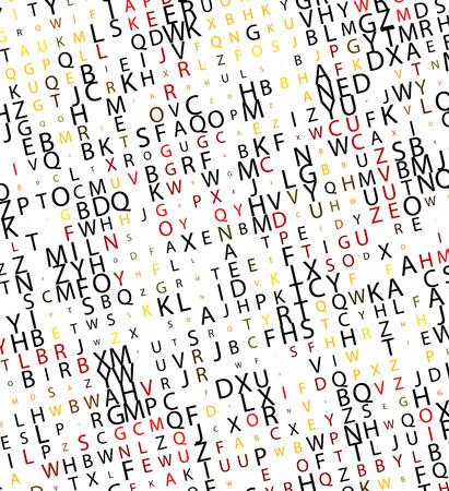 Digital program code,  illustration. Stock Vector - 8113434
