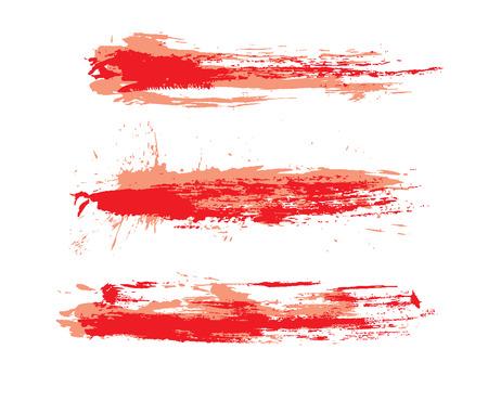 verschmieren: Abstract Grunge Pinsel verwendet in Ihrem Projekt.  Abbildung