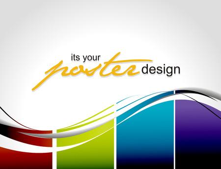 디자인: Abstract background with colorful design for text project used,  illustration.
