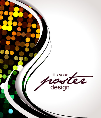 Abstract background with colorful design for text project used,   illustration.
