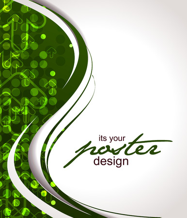 Abstract background with colorful design for text project used,  illustration.  Vector