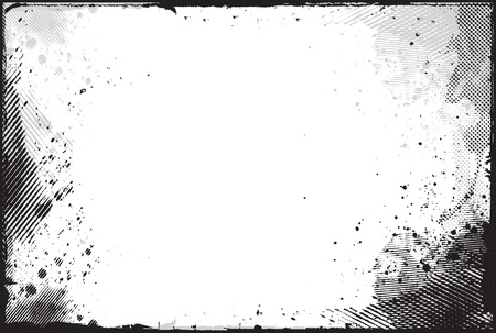 elemento de dise�o de frontera de grunge abstracta   Foto de archivo - 8173205