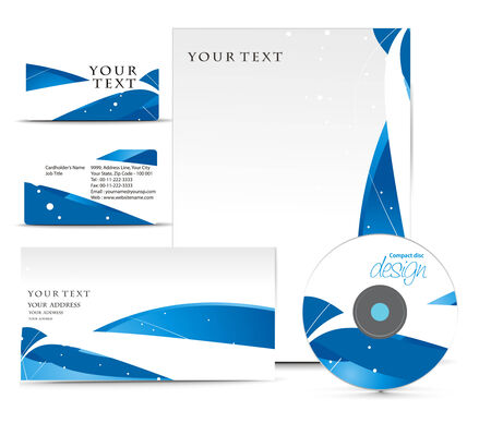 Business style templates for your project design, illustration.