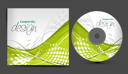 dvd:   CD-Cover-Design-Vorlage mit Kopie, Raum, illustration