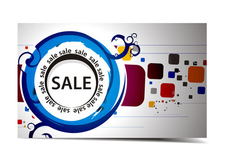 Discount card templates,   illustration.  Vector