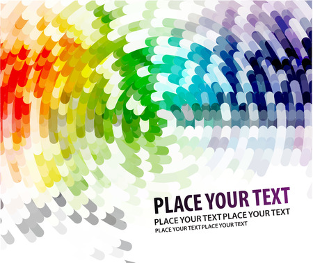 color swatch book: Abstract background from color mosaic background, illustration. Illustration