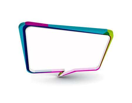 messenger window icon   illustration isolated on white background.  Vector