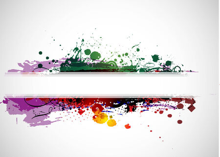 your text: Abstract colorful banner background with space of your text.   illustration.