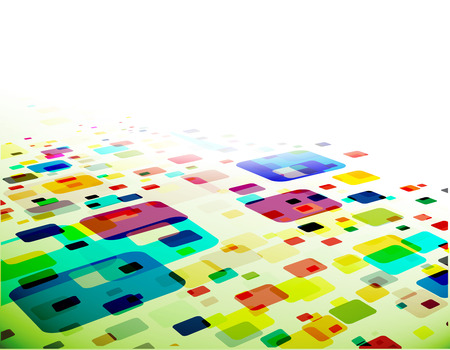 abstract mosaic background,   illustration.  Vector