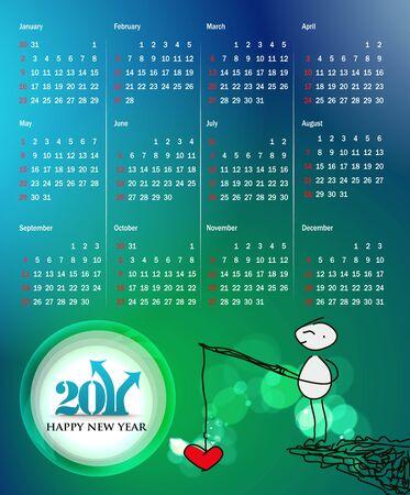 colorful 2011 calendar design element. Vector