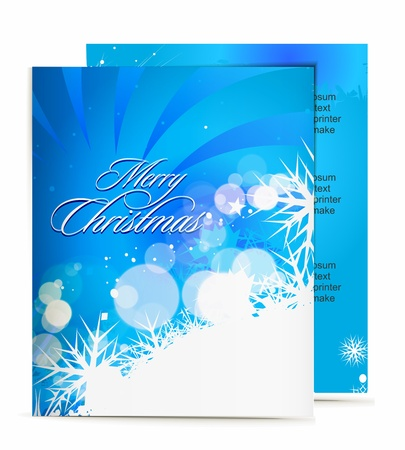 Christmas template designs of menu with best used of your flyer project. Stock Vector - 8313573