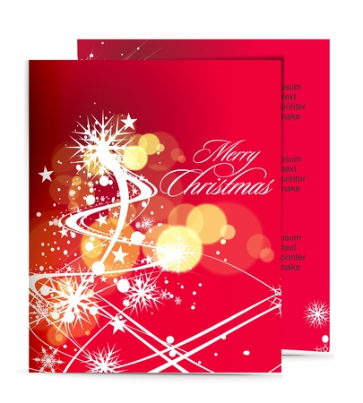 Christmas template designs of menu with best used of your flyer project. Vector