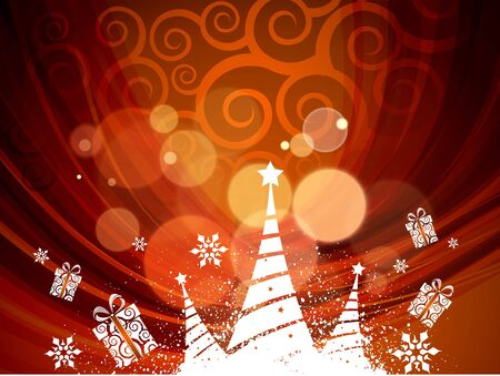 Background for new year and for Christmas  illustration Vector
