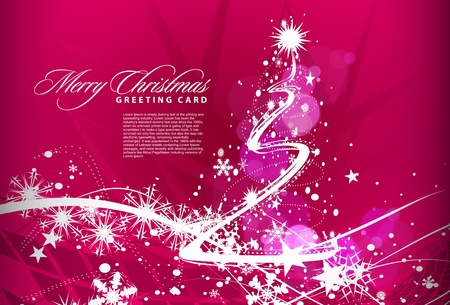 christmas deco: Background for new year and for Christmas, illustration