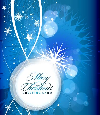 Background for new year and for Christmas, illustration Stock Vector - 8358329