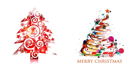Background for new year and for Christmas,  illustration Vector