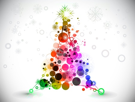 colorful background for new year and Christmas, vector illustration Stock Vector - 8498881