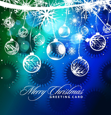 colorful background for new year and Christmas, vector illustration Stock Vector - 8498889