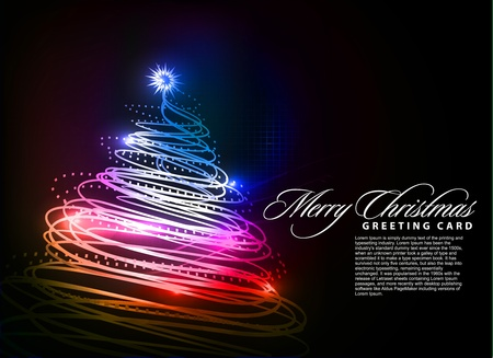 colorful background for new year and Christmas, vector illustration Stock Vector - 8498888