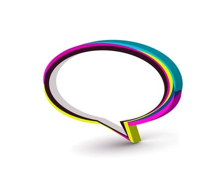 icône de fenêtre Messenger illustration vectorielle isolée sur fond blanc.  Vecteurs
