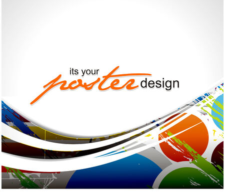 Abstract background with colorful design for text project used, vector illustration.  Stock Vector - 9027890