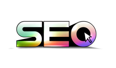 SEO - Search Engine symbol with mouse curser design. Stock Vector - 9063971
