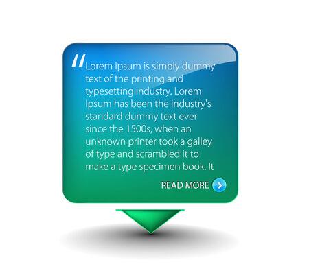 more information: web banner elements for web templete design used.  Illustration
