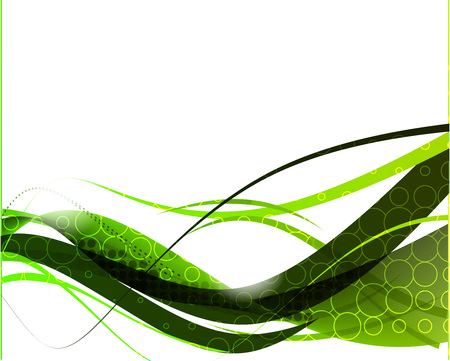 abstract wave line with space of your text, vector illustration  Vector