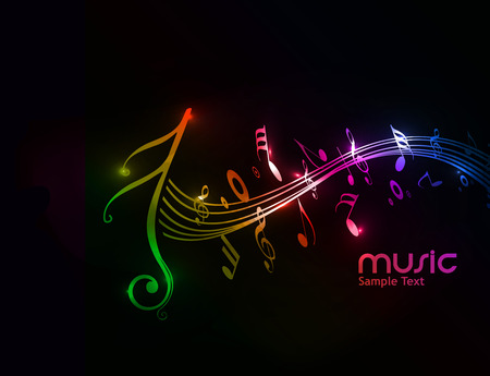 Music notes for design use, vector illustration Stock Vector - 9066065