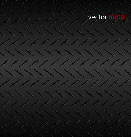 Fluted metal texture pattern. Vector Illustration.