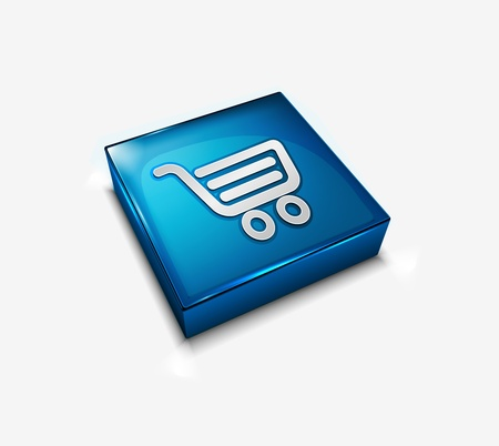3d vector buy web icons design element. Stock Vector - 9307013